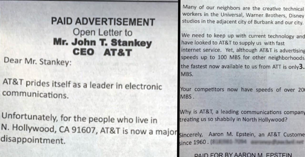 90yos Newspaper Ads to Complain
