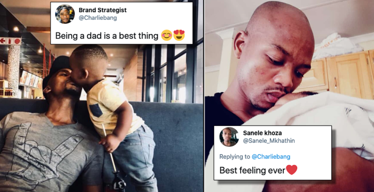 Twitter dad sparks celebration of fatherhood