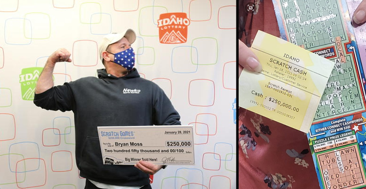 Dad wins lottery for the 6th time