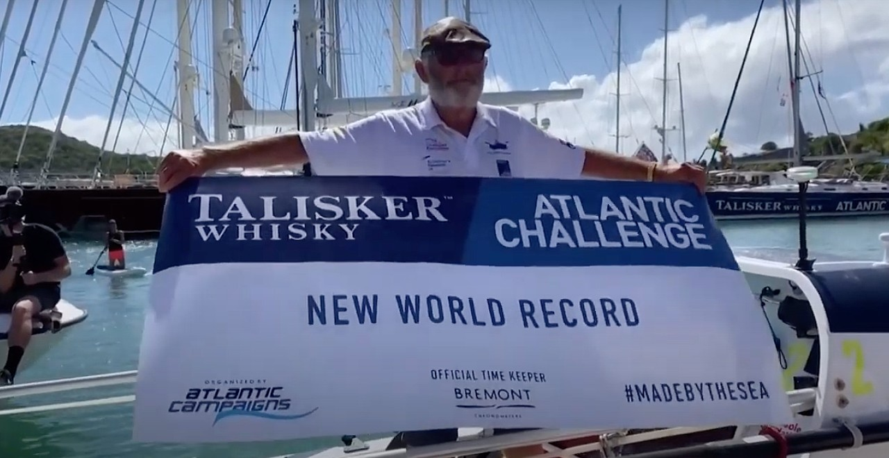 Grandpa Becomes Oldest person to sail solo across Atlantic