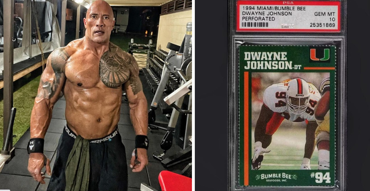 The Rock Card