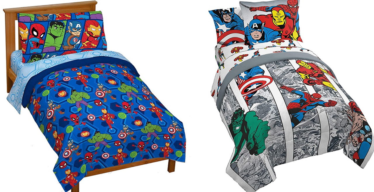 Marvel Bed Sheets and Pillows