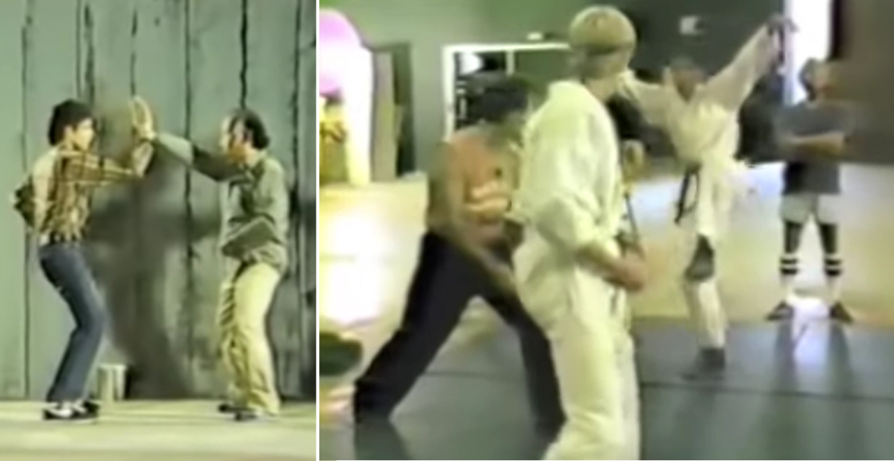 Lo-Fi Karate Kid Camcorder Version