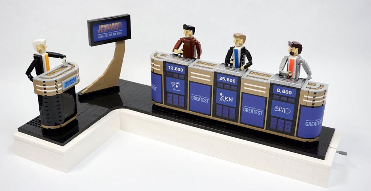 Jeopardy Lego