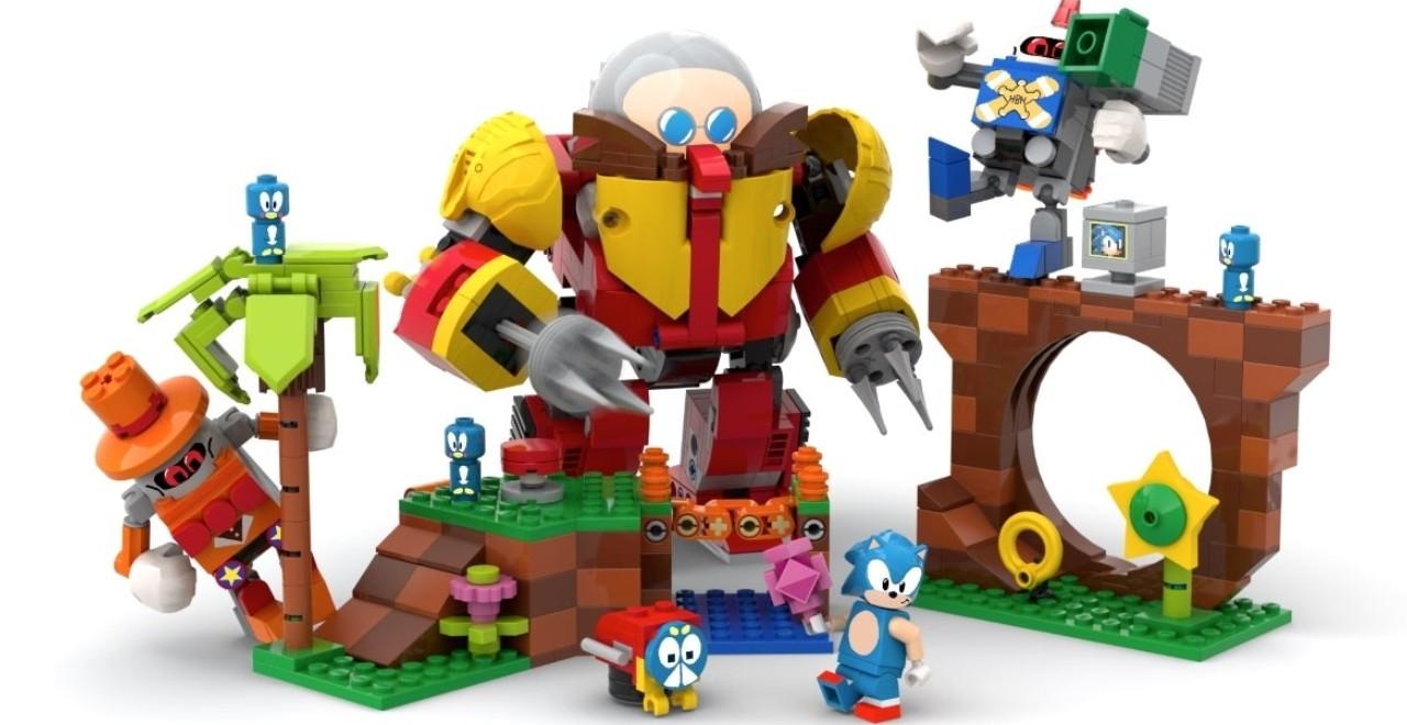 Sonic Mania Lego Set
