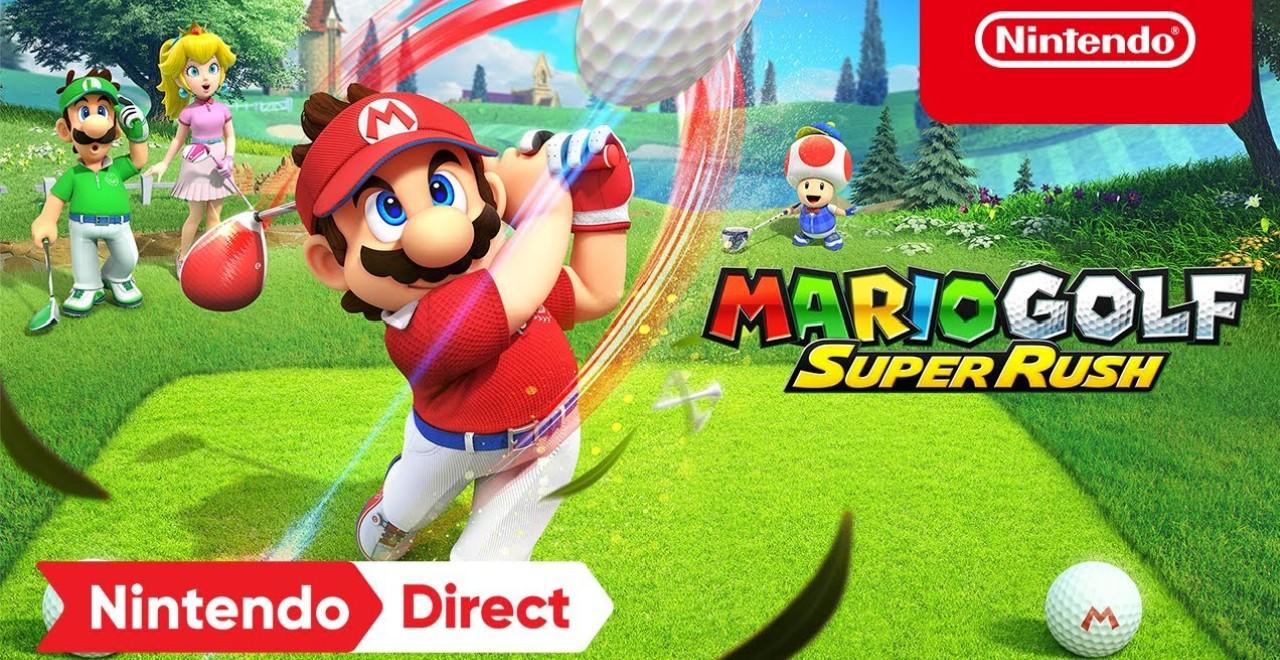 Mario Golf, Splatoon 3, Zelda and More Announced During Today's Nintendo Direct