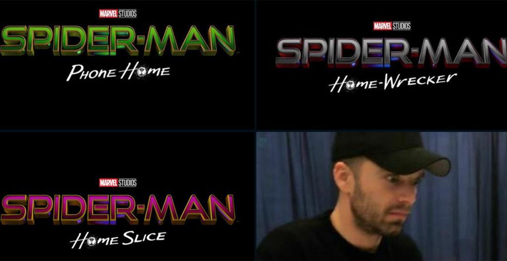 Spider-Man 3 Names