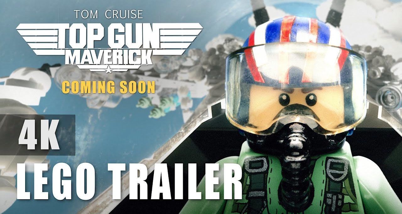 LEGO Top Gun Trailer