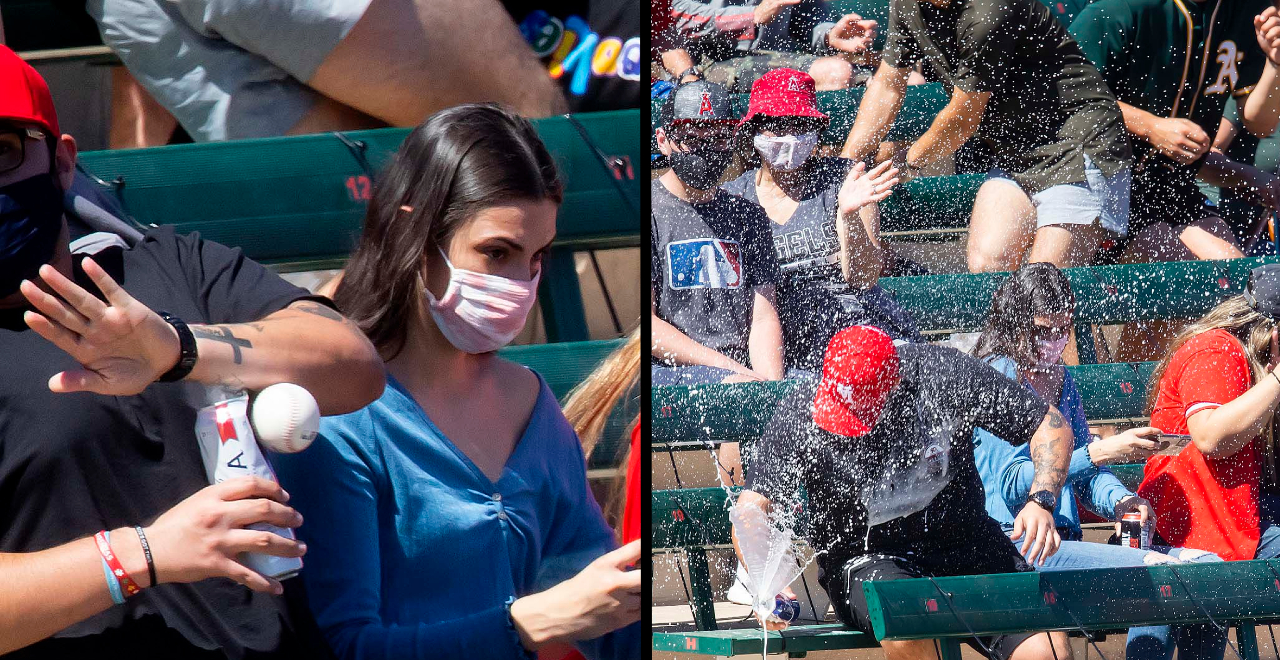 Baseball Fan Saves Woman With Beer