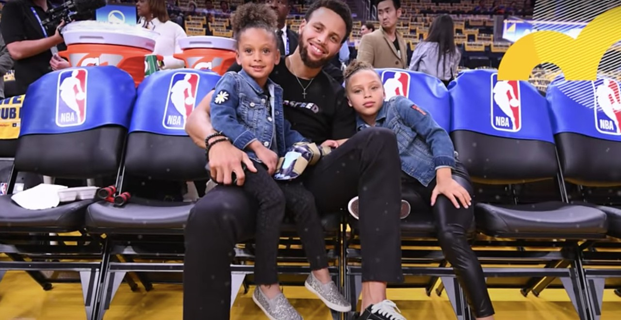 Steph Curry says he loves being a girl dad