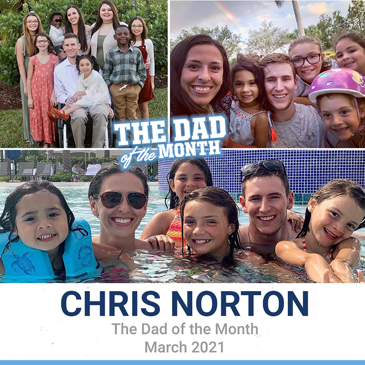 March 2021: Chris Norton
