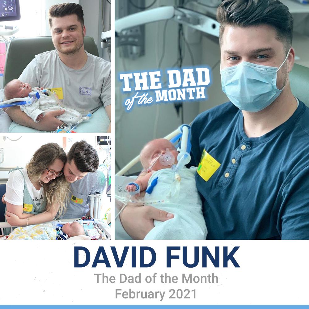 February 2021: David Funk