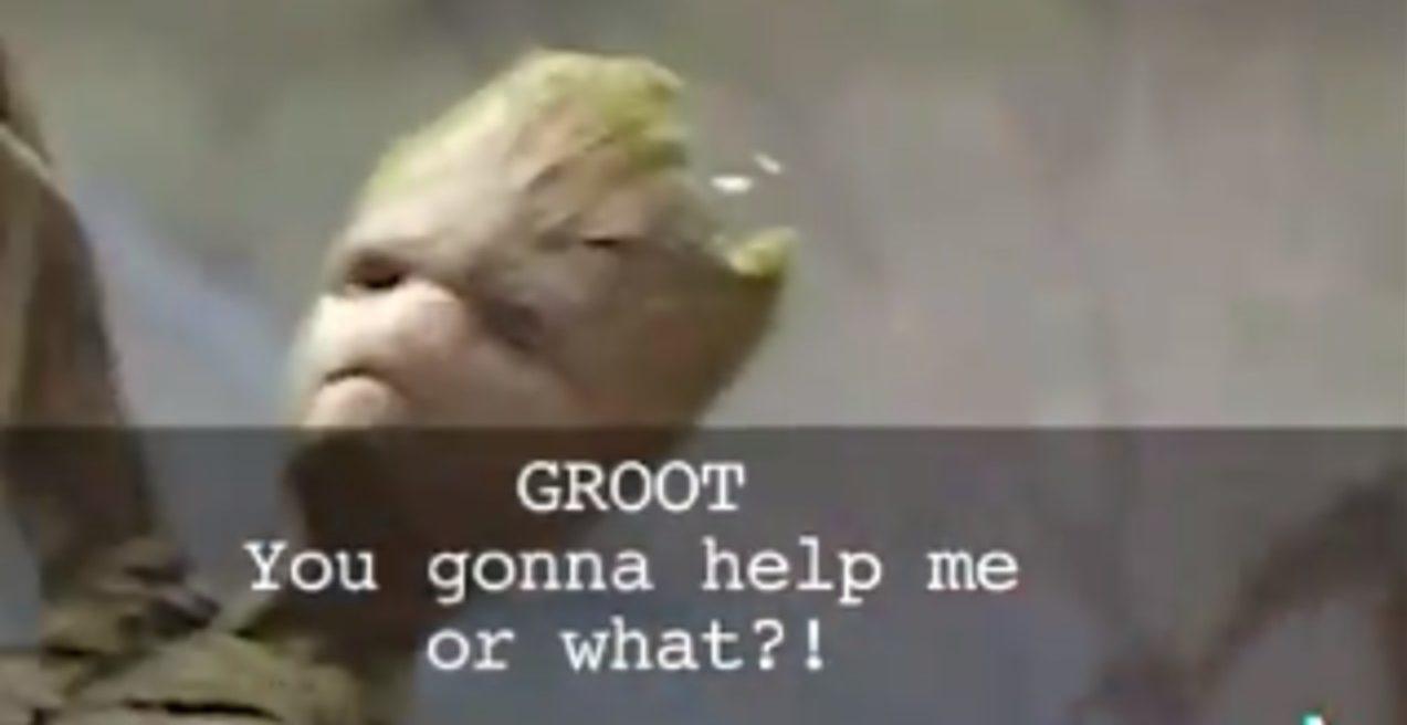 I am Groot translations