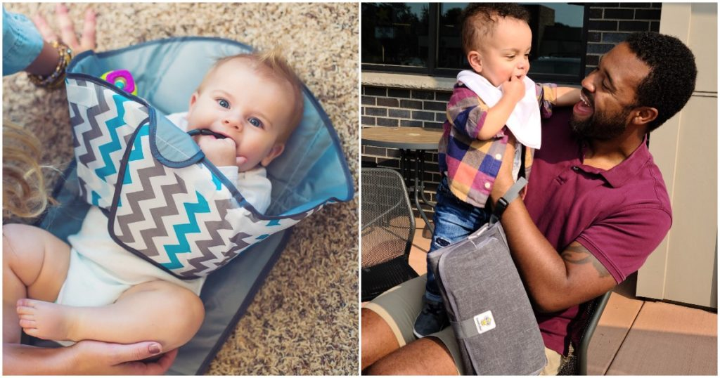Two Parents Create Ingenious Way To Keep Babies From Making Everything A Mess