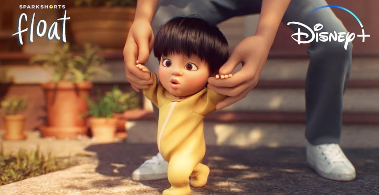 Dad behind Pixar's Float