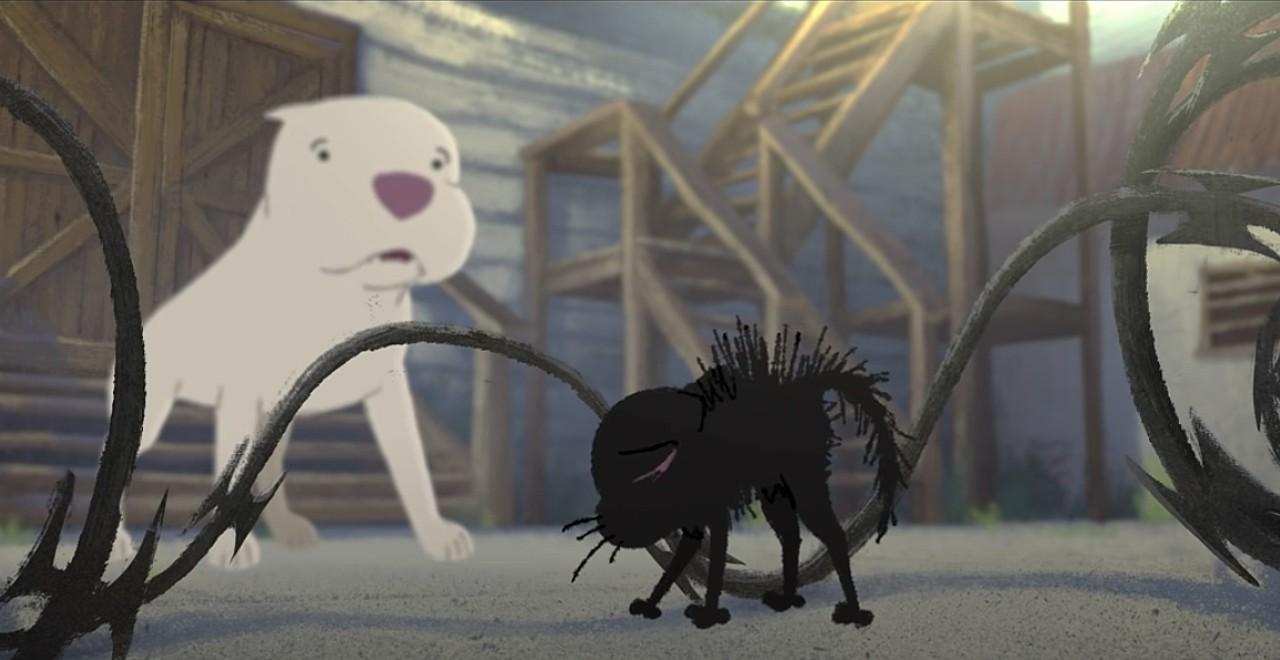 Pixar Short Kitbull follows kitten and abused pit bull
