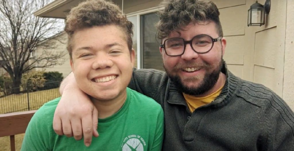 Teacher adopts teen who couldn't find foster home due to medical needs