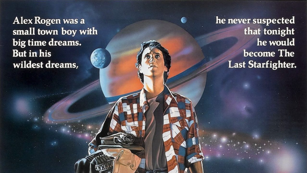 "Poster for the film ""The Last Starfighter"""