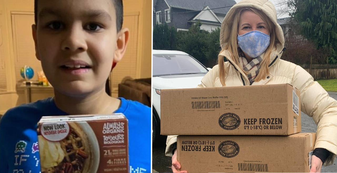 Company Adapts Waffle Recipe for Boy with Austism