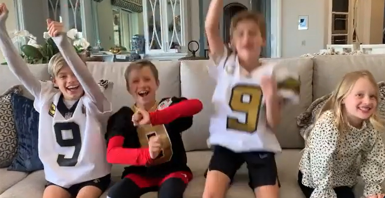Drew Brees' Kids Announce Retirement