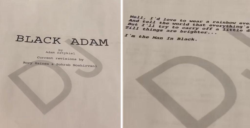 Black Adam script