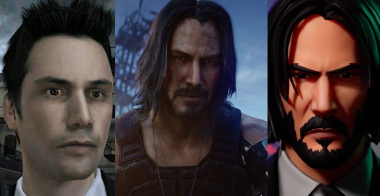 A Brief and Most Excellent History of Keanu Reeves in Video Games