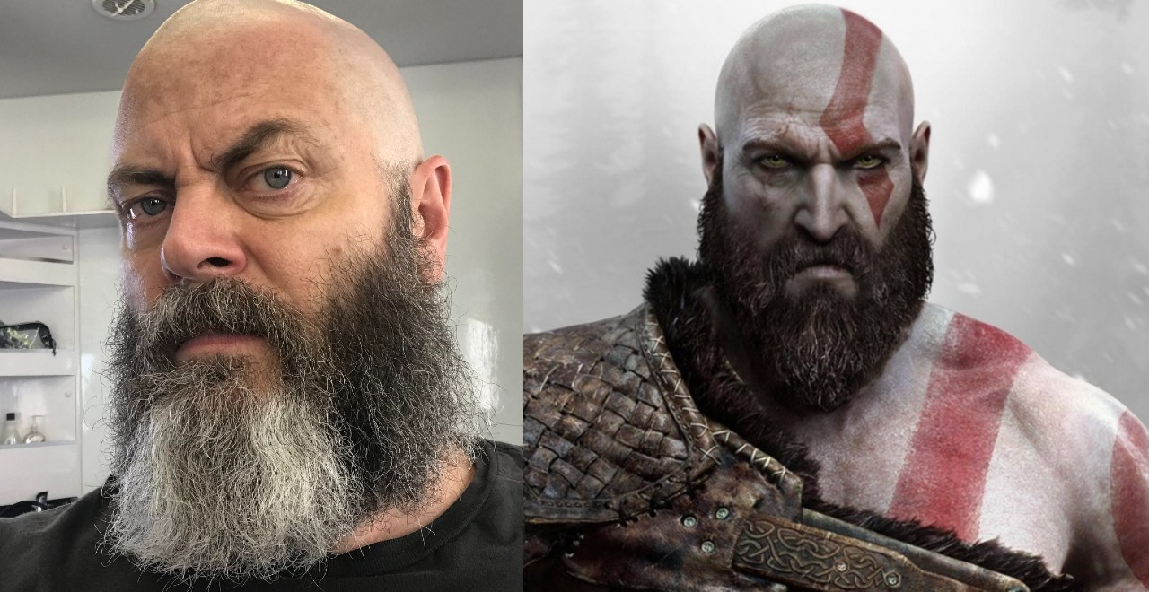 Offerman as Kratos