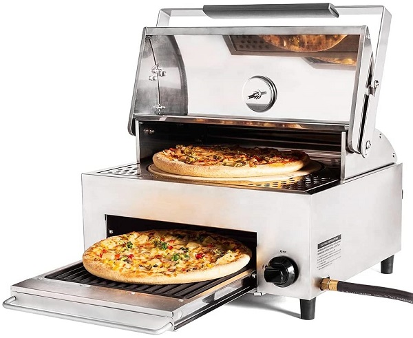 Best Pizza Ovens For Grill; Cap'n Cook Pizza Oven