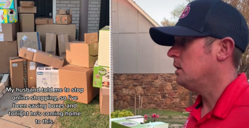 Dad Falls for Amazon Prank