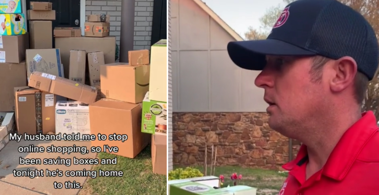 Dad Falls for Amazon Prank