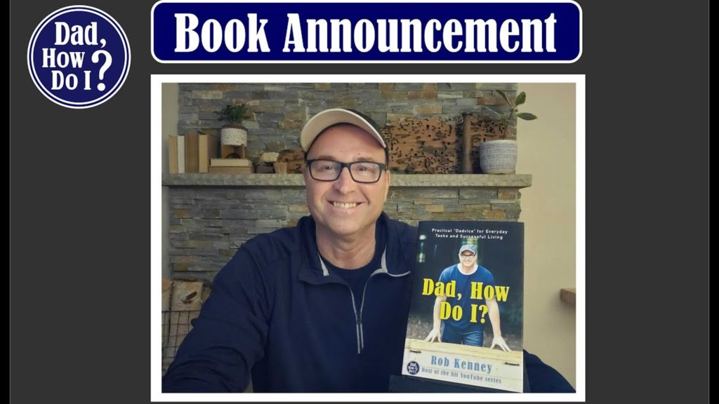 Dad How Do I Dadvice book announcement
