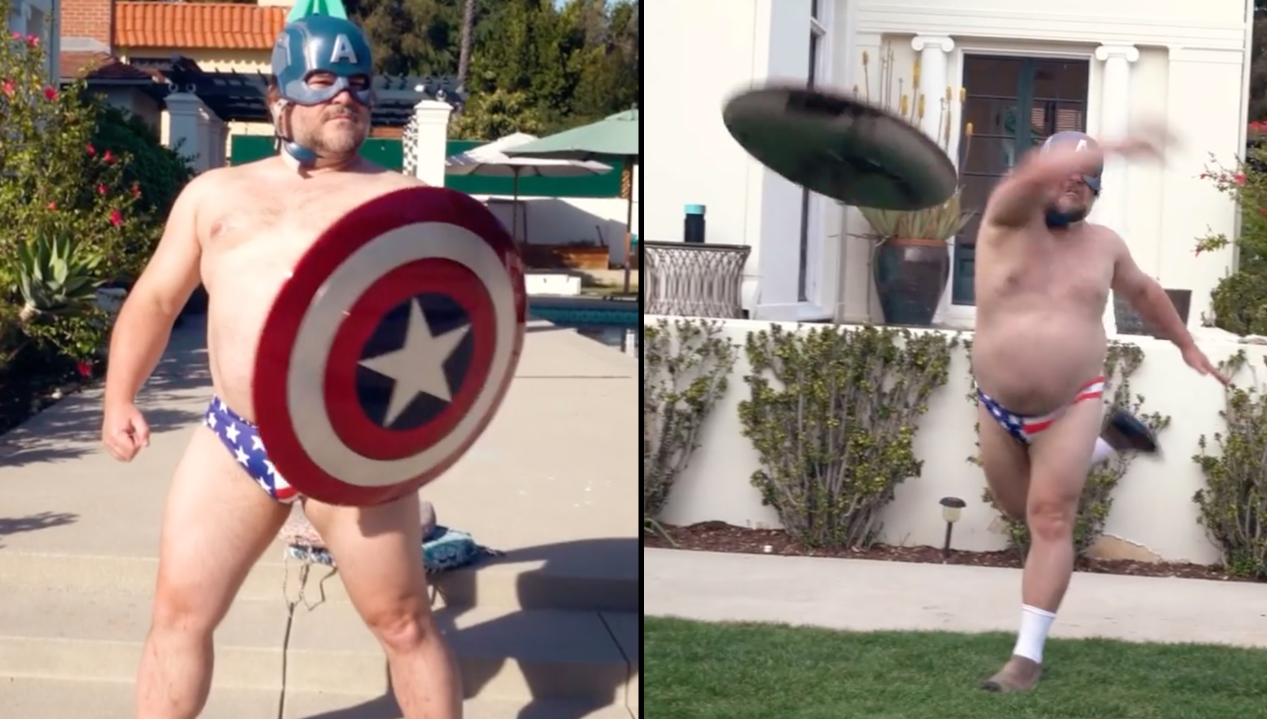 Jack Black Captain America