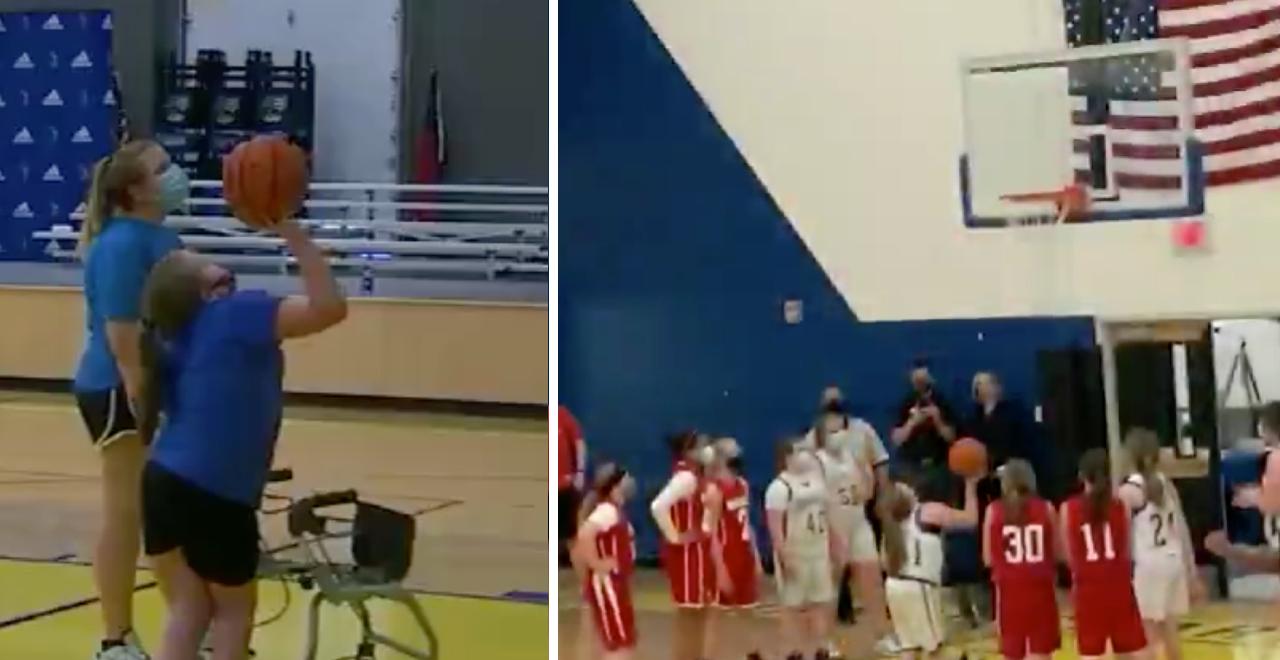 Middle school Dream Basket