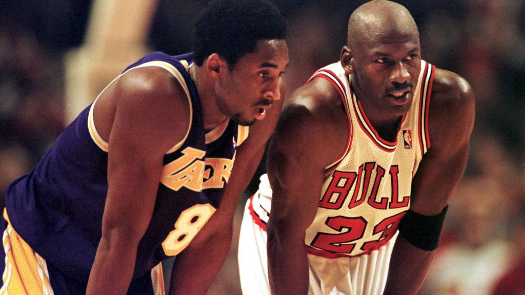 MJ Presents Kobe at HOF