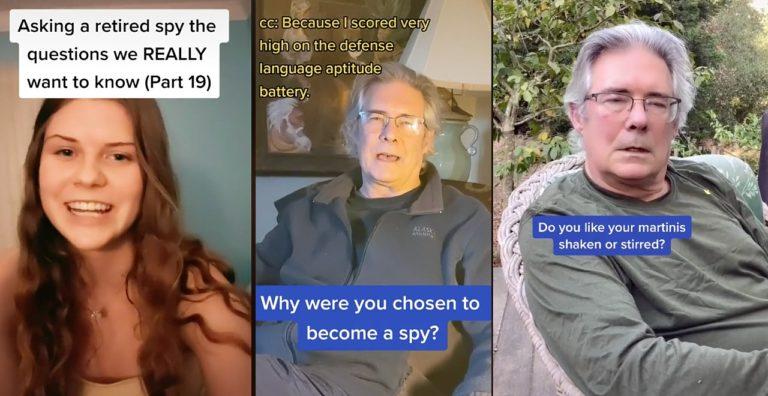Teen questions former spy dad