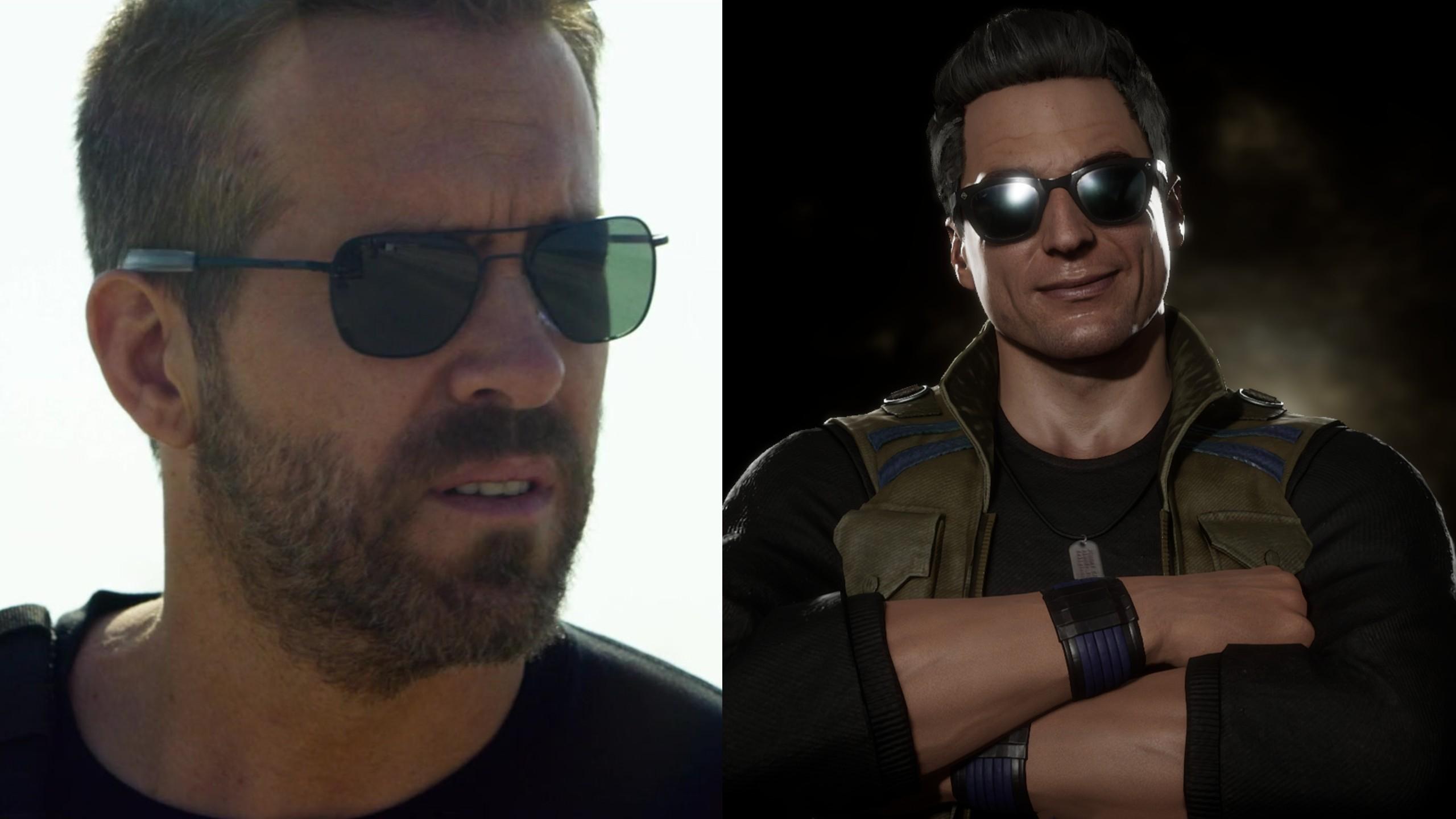 Ryan Reynolds Johnny Cage
