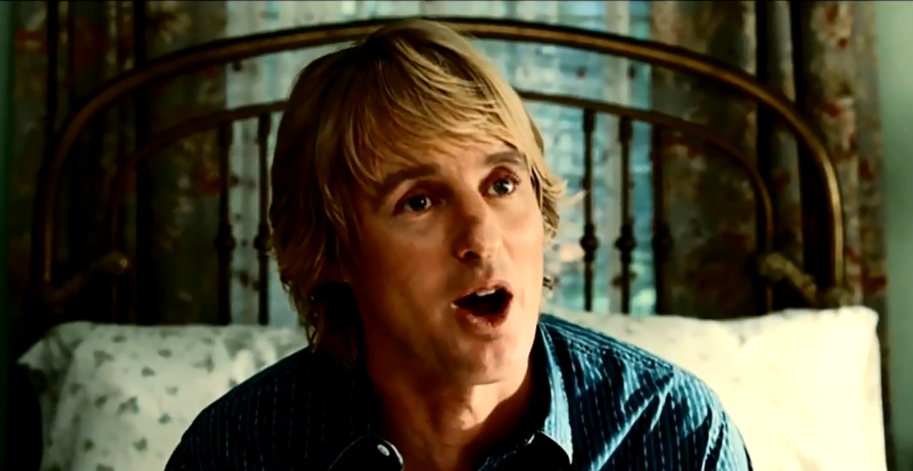 Owen Wilson Says Wow 81 Times