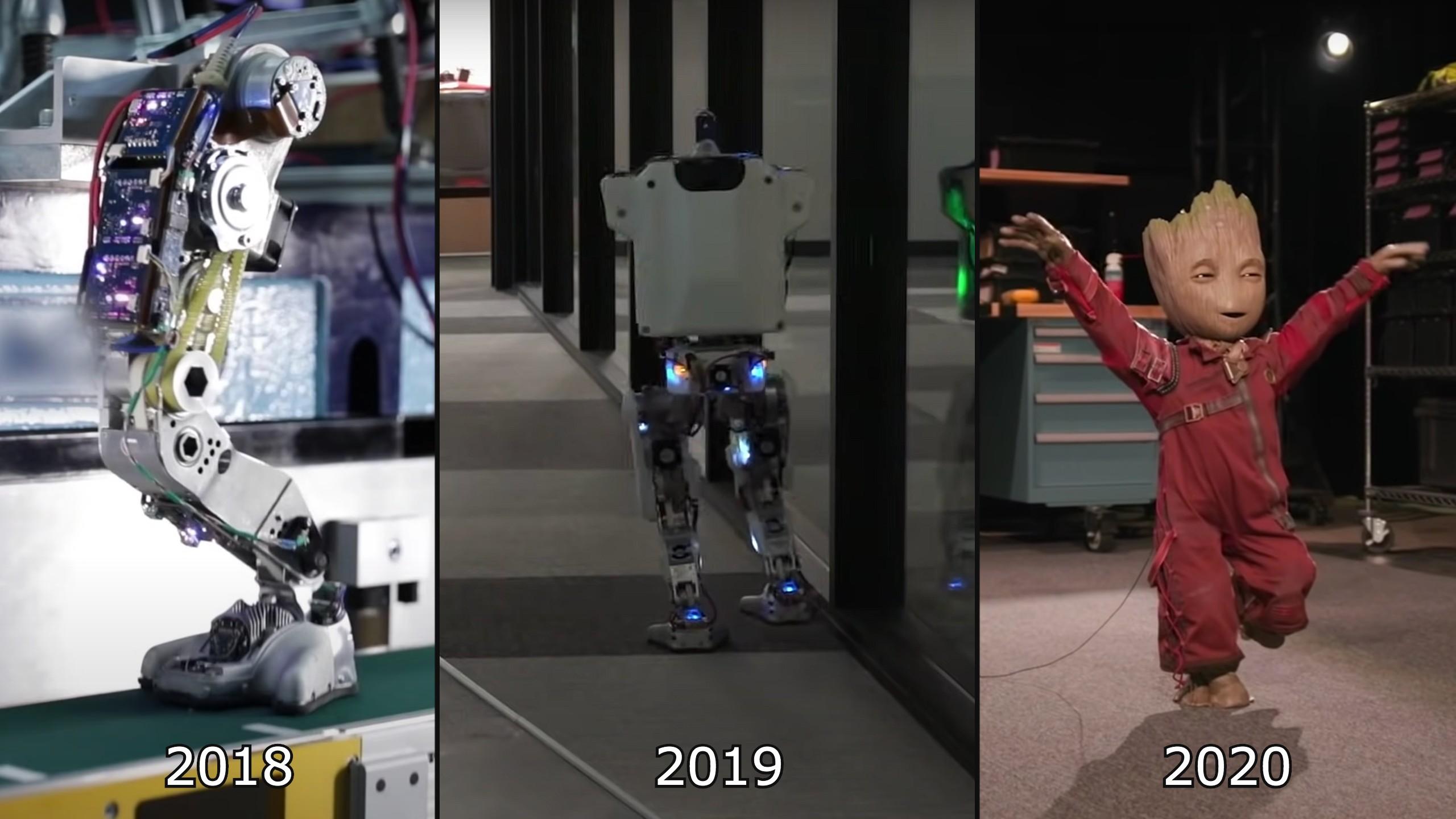 Disney Imagineers build dancing robotic baby Groot