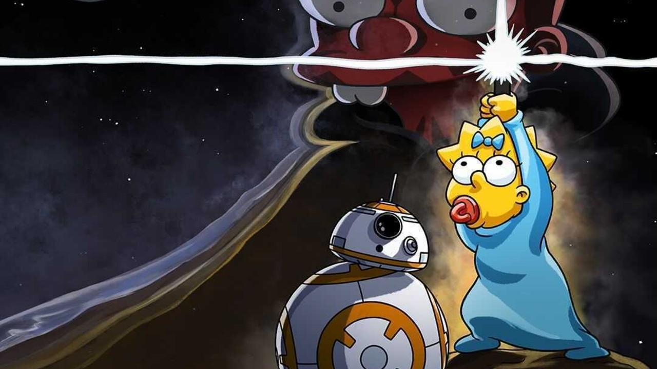Star Wars Simpson Mashup
