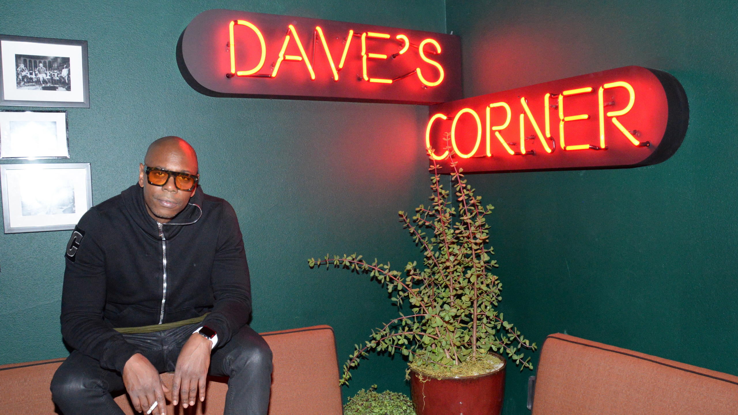Dave Chappelle Private After Party At The h.wood Group's Special Preview Of Harriet's Rooftop Lounge at the Upcoming 1 Hotel West Hollywood