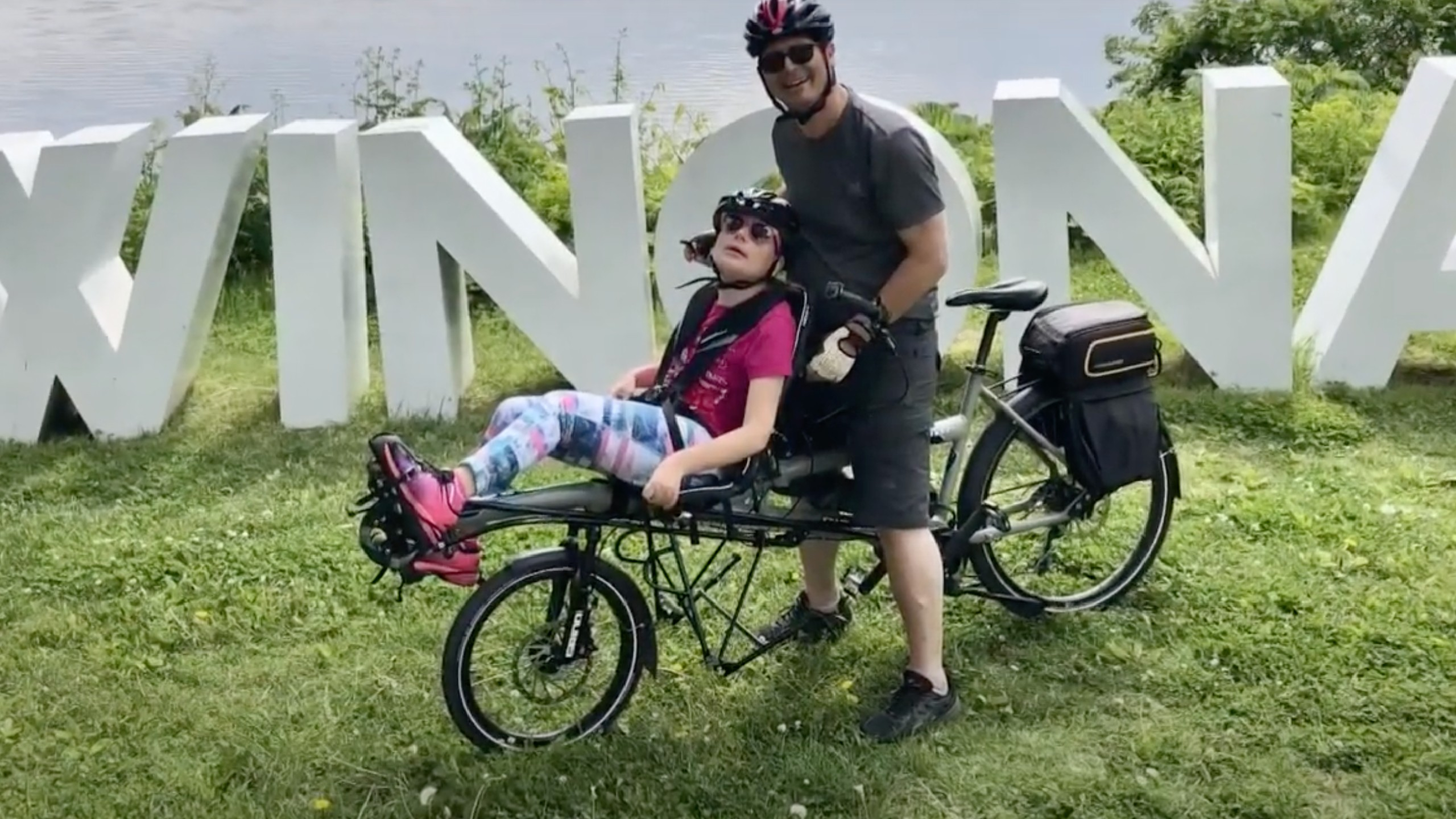 Dad helps families find bikes for kids with special needs