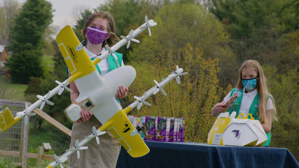 Girl Scout Drones