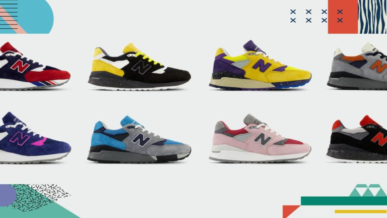 New Balance's unique line of shoes boasts sustainability and style