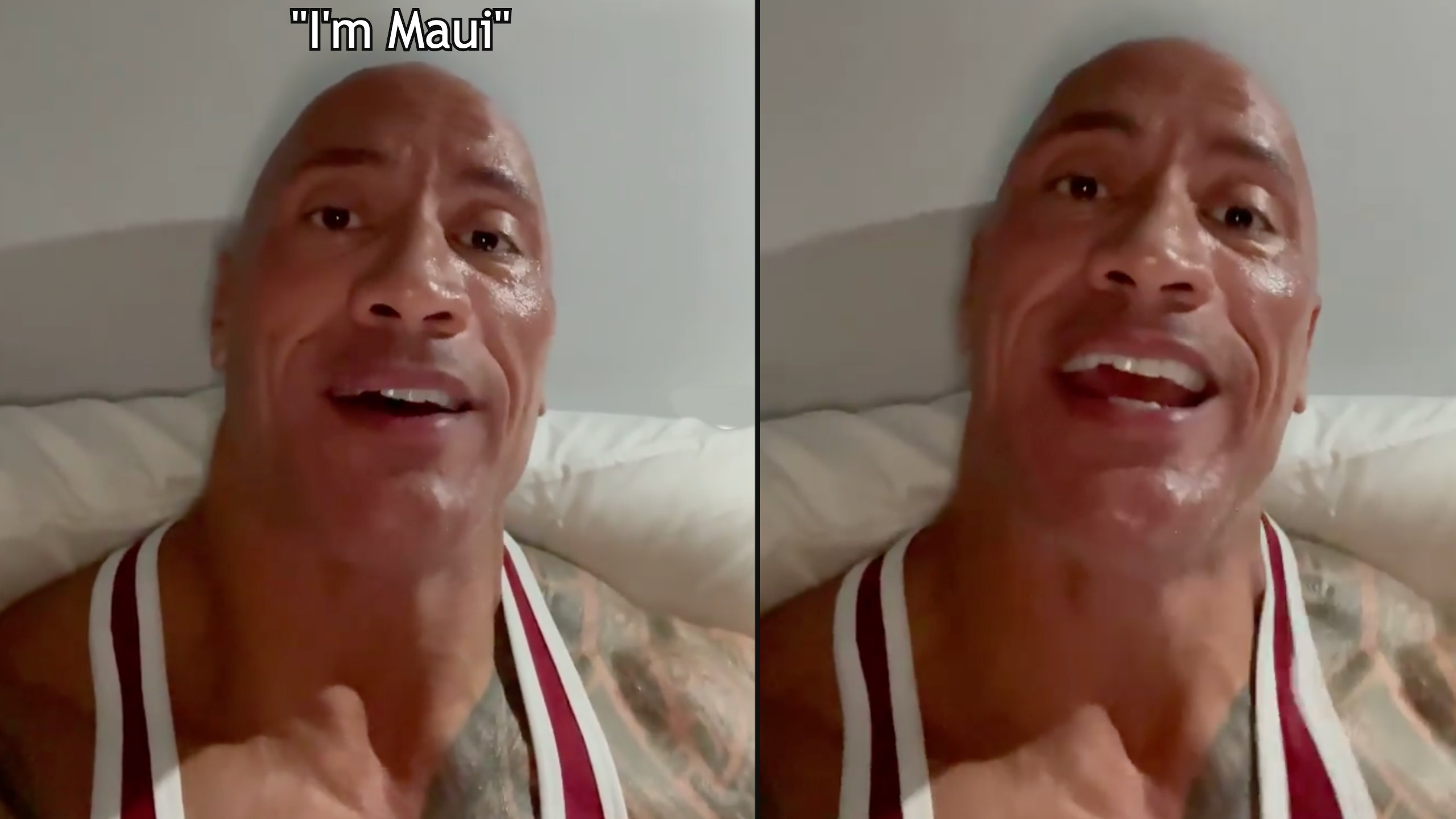The Rock sends Moana fan battling cancer video of him singing Maui's song
