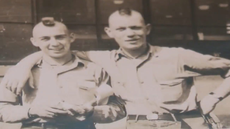 Dad was a humble war hero
