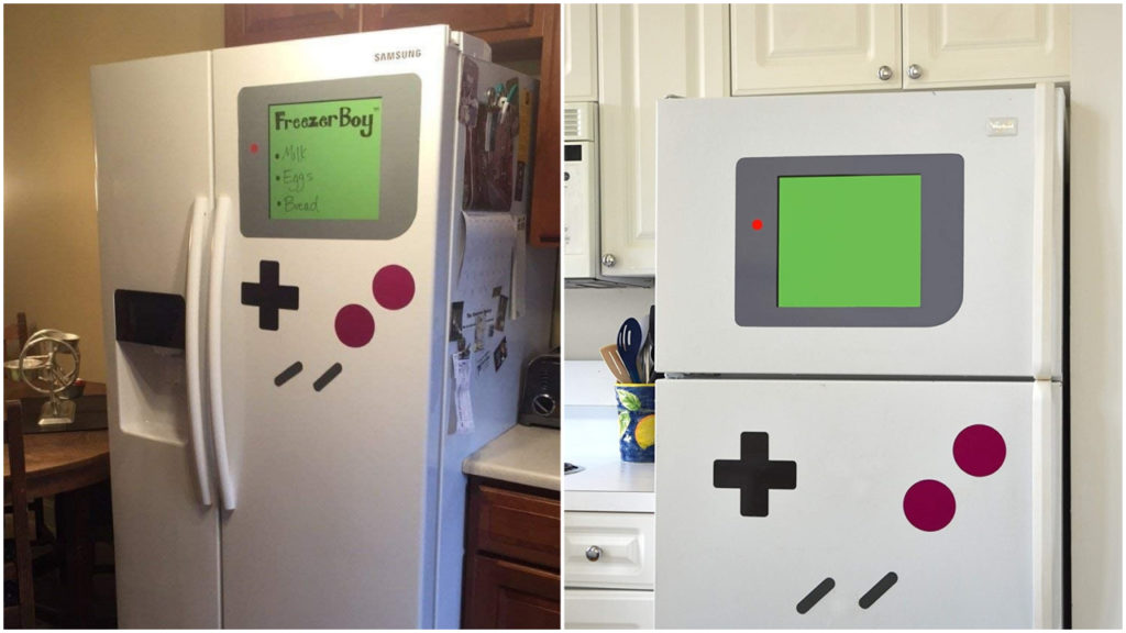freezer boy game boy magnet