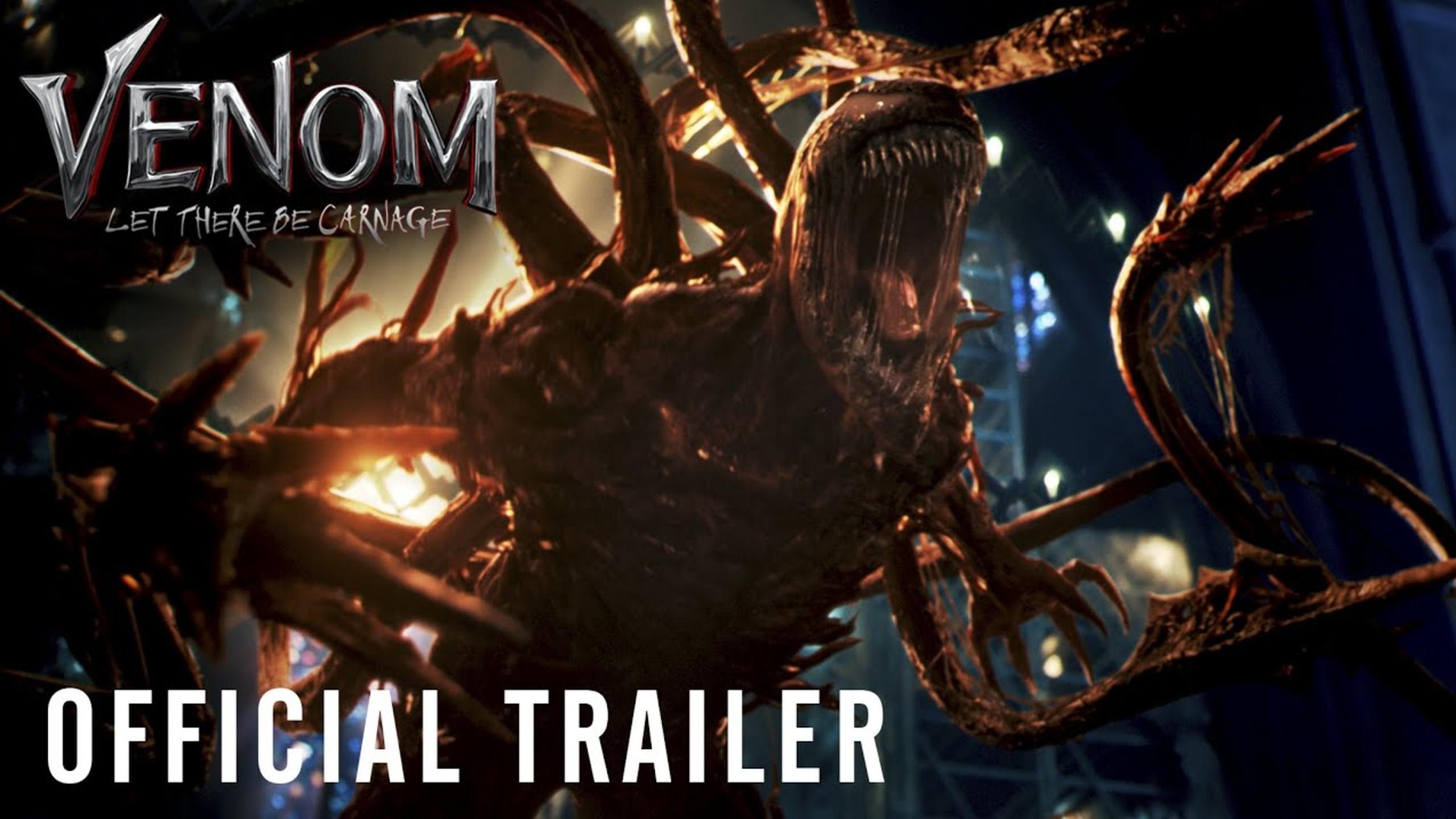 Venom Carnage Trailer