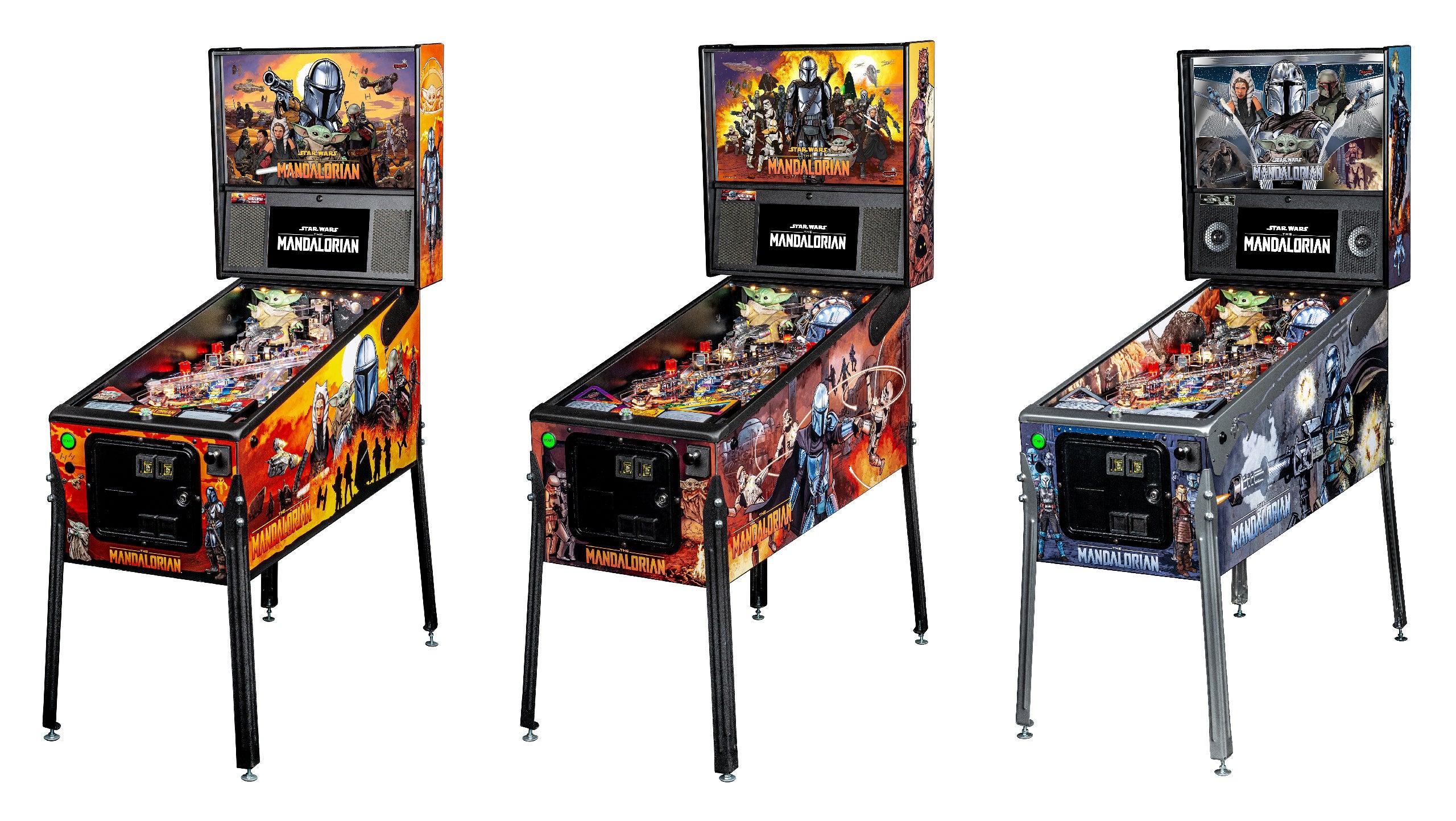 Mandalorian Pinball Machines