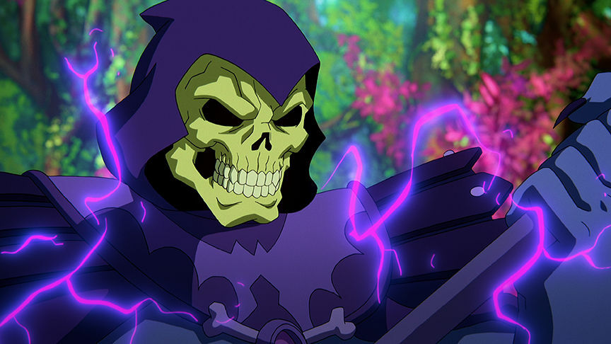 Netflix Masters of the Universe Revelation Skeletor