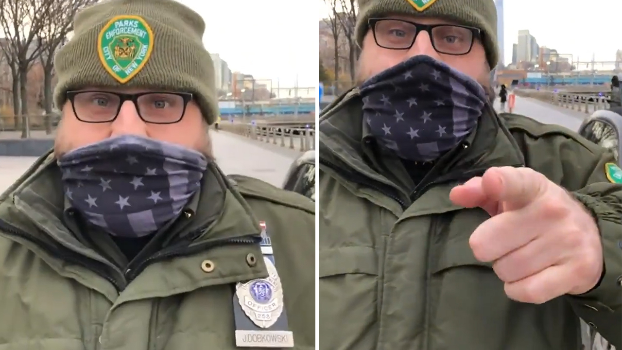 NYC Parks Officer Pressures Ryan Reynolds
